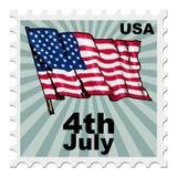 Självständighetsdagen av USA Arkivbilder