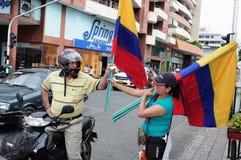 Självständighetsdagen. Colombia Fotografering för Bildbyråer