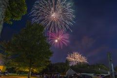 Självständighetsdagen Juli 4th 2018 Royaltyfria Bilder