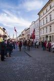 Självständighetsdagen Polen Fotografering för Bildbyråer