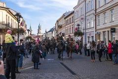 Självständighetsdagen Polen Arkivbilder