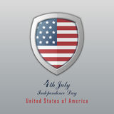 Självständighetsdagen 4th juli lycklig självständighet för dag Arkivfoto