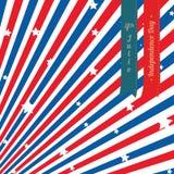 Självständighetsdagenbakgrund Royaltyfri Fotografi