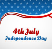Självständighetsdagendesign Arkivfoton