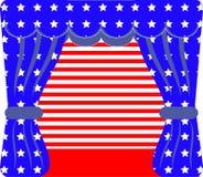Självständighetsdagenkort Royaltyfri Illustrationer