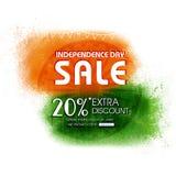 SjälvständighetsdagenSale affisch, baner eller reklamblad Royaltyfri Bild