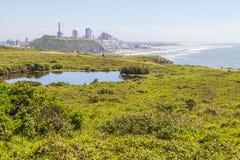 Sjö över klipporna på Torres Royaltyfria Bilder
