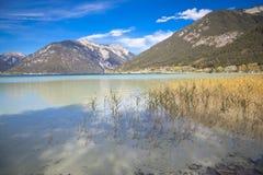 Sjö Achensee i Tirol Arkivbilder