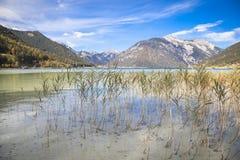 Sjö Achensee i Tirol Royaltyfri Bild