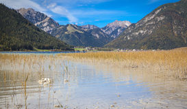 Sjö Achensee i Tirol Royaltyfria Foton