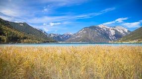 Sjö Achensee i Tirol Arkivbild