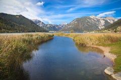 Sjö Achensee i Tirol Fotografering för Bildbyråer
