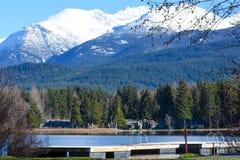 Sjö Alta, Whistler British Columbia arkivbild