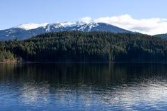 Sjö Alta, Whistler British Columbia royaltyfria bilder