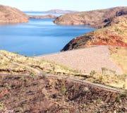 Sjö Argyle Western Australia Fotografering för Bildbyråer