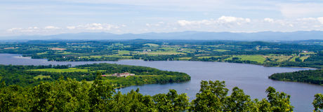 Sjö Champlain Arkivbild