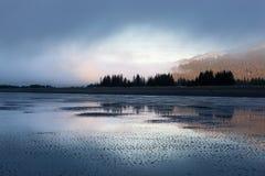 Sjö Clark National Park Morning Light Royaltyfria Foton