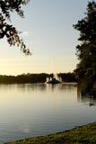 Sjö Eola Orlando Florida Fotografering för Bildbyråer