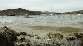 sjö från kust lager videofilmer