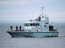 Sjö- hantverk för HMS-anfallare arkivbilder