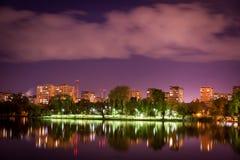 Sjö i Bucharest Royaltyfri Foto