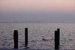 Sjö i Holland Arkivbilder