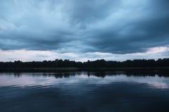 Sjö i Lettland Royaltyfri Bild