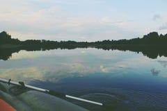 Sjö i Lettland Arkivbilder