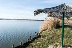 Sjö i naturreserv Arkivbilder
