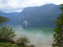 Sjö i Slovenien royaltyfria foton