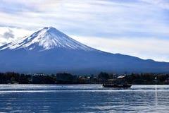 Sjö Kawaguchiko Fotografering för Bildbyråer