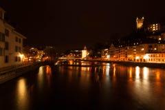 Sjö Lucerne, Schweiz royaltyfria foton