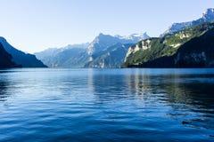 Sjö Lucerne - Schweiz Arkivfoto