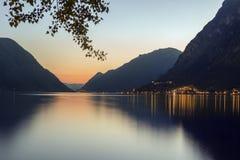 Sjö Lugano - italienska sjöar - Italien Royaltyfri Fotografi