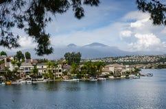 Sjö Mission Viejo - Mission Viejo, Kalifornien Arkivbilder