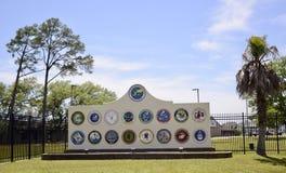 Sjö- mitt för konstruktionsbataljon, Gulfport, Mississippi arkivfoto