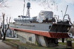Sjö- museum i Varna lökformig arkivfoton
