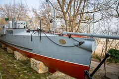 Sjö- museum i Varna lökformig royaltyfri fotografi