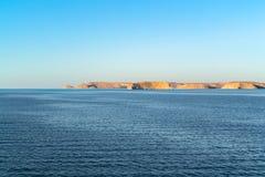 Sjö Nasser i Abu Simbel Royaltyfria Foton