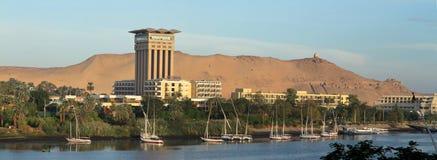 Sjö Nasser i Egypten Royaltyfri Foto