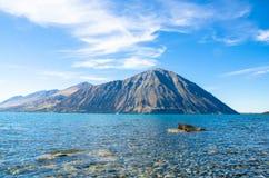 Sjö Ohau, Nya Zeeland Royaltyfri Foto