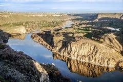 Sjö på Idaho nedgångar Fotografering för Bildbyråer