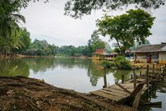 Sjö på Jengka Pahang Arkivfoto