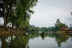 Sjö på Jengka Pahang Arkivbilder