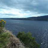 Sjö scotland Loch Ness Vatten Arkivbild