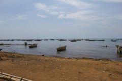Sjö tanganyika i Burundi royaltyfri fotografi