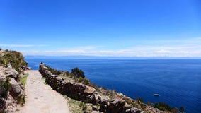 Sjö Titikaka Royaltyfri Bild