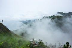 Sjö Toba i den indonesiska ön av Sumatra Fotografering för Bildbyråer