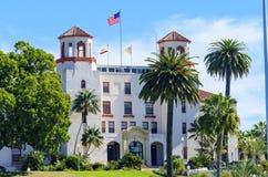 Sjö- vårdcentral San Diego Arkivbild
