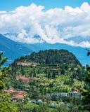Sjöar av gyckel i Como, Italien Fotografering för Bildbyråer